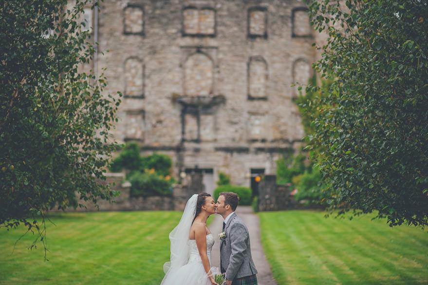 alternative wedding photographer oban