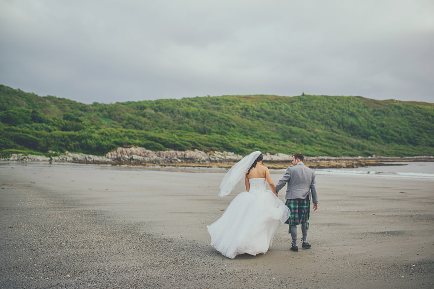 wedding photographer in oban