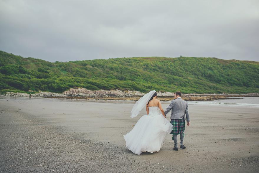 wedding photographer in oban