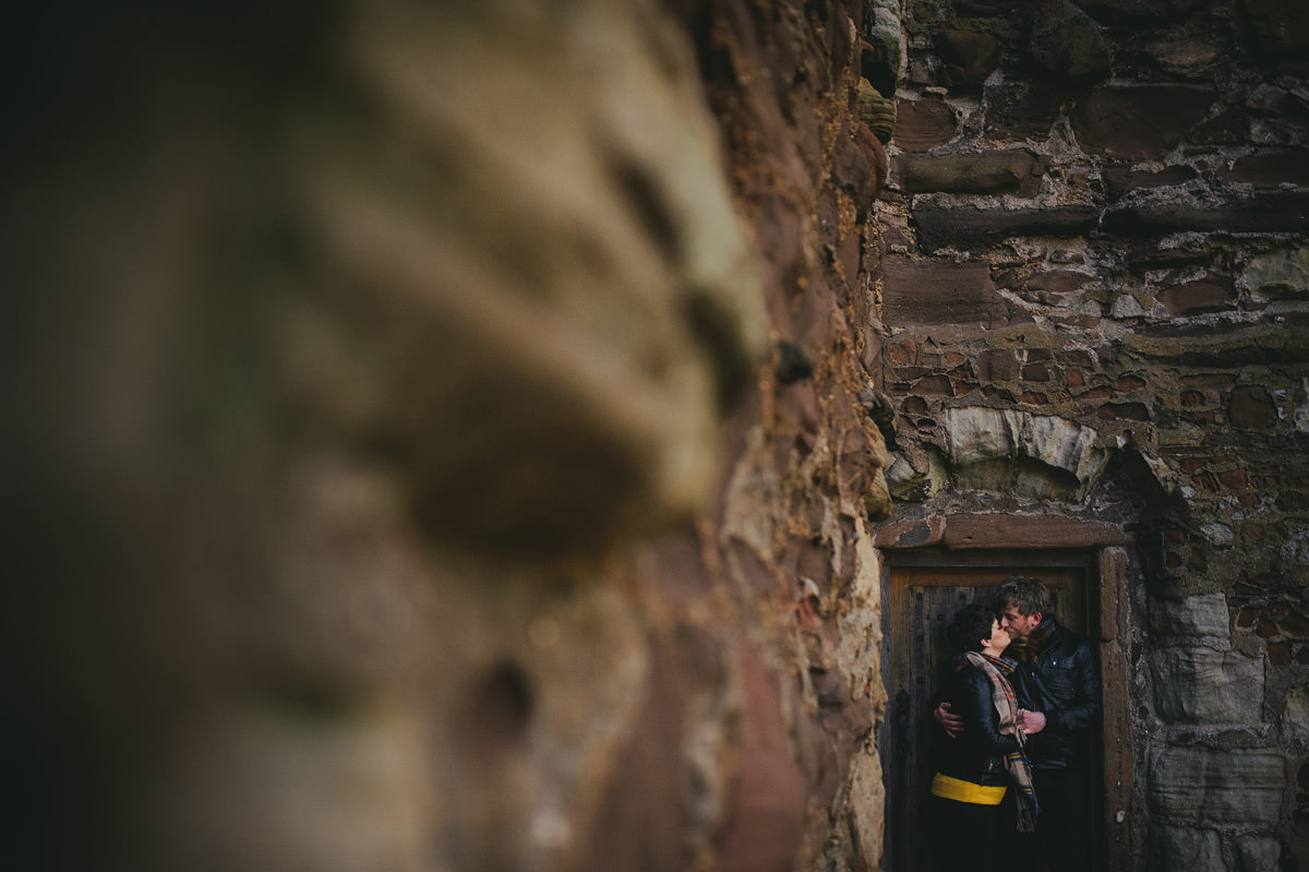 scottish castle pre wedding session 016