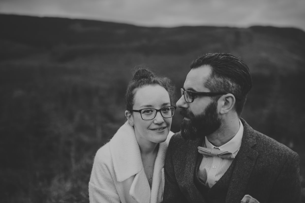 elopement in scottish highlands