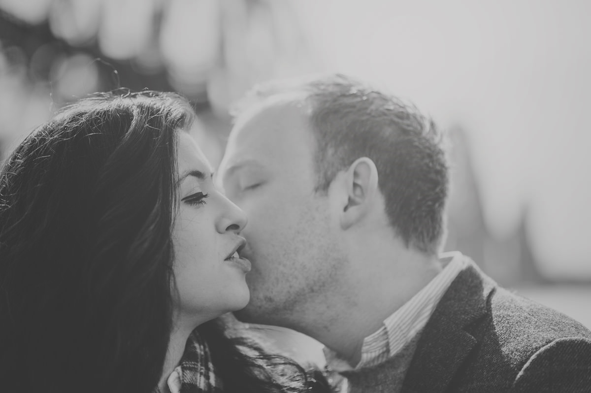 engagement session in Edinburgh