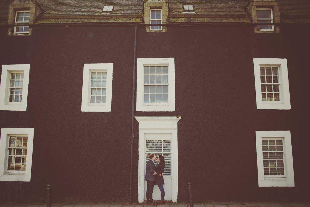 engagement session in Edinburgh