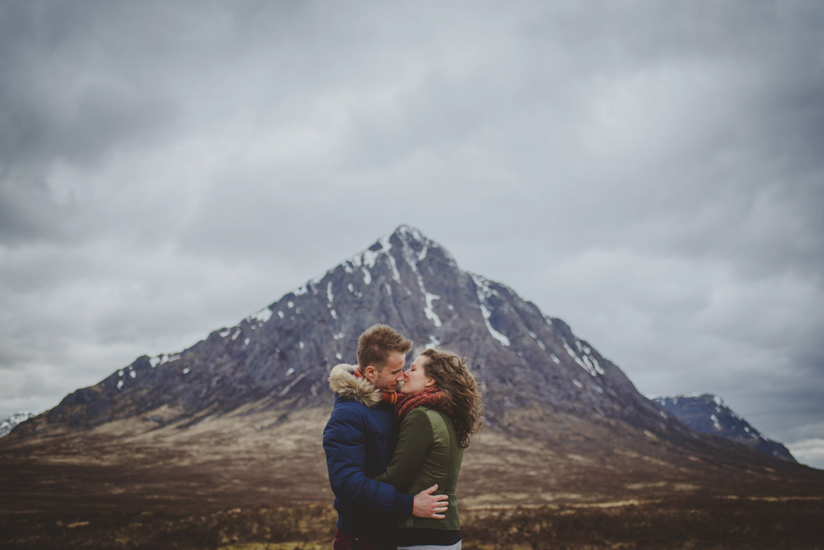 wedding photographer glencoe