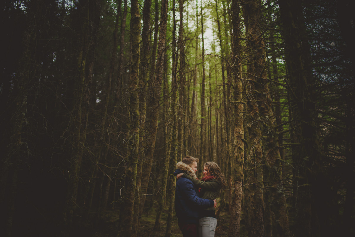 engagement session in scotland