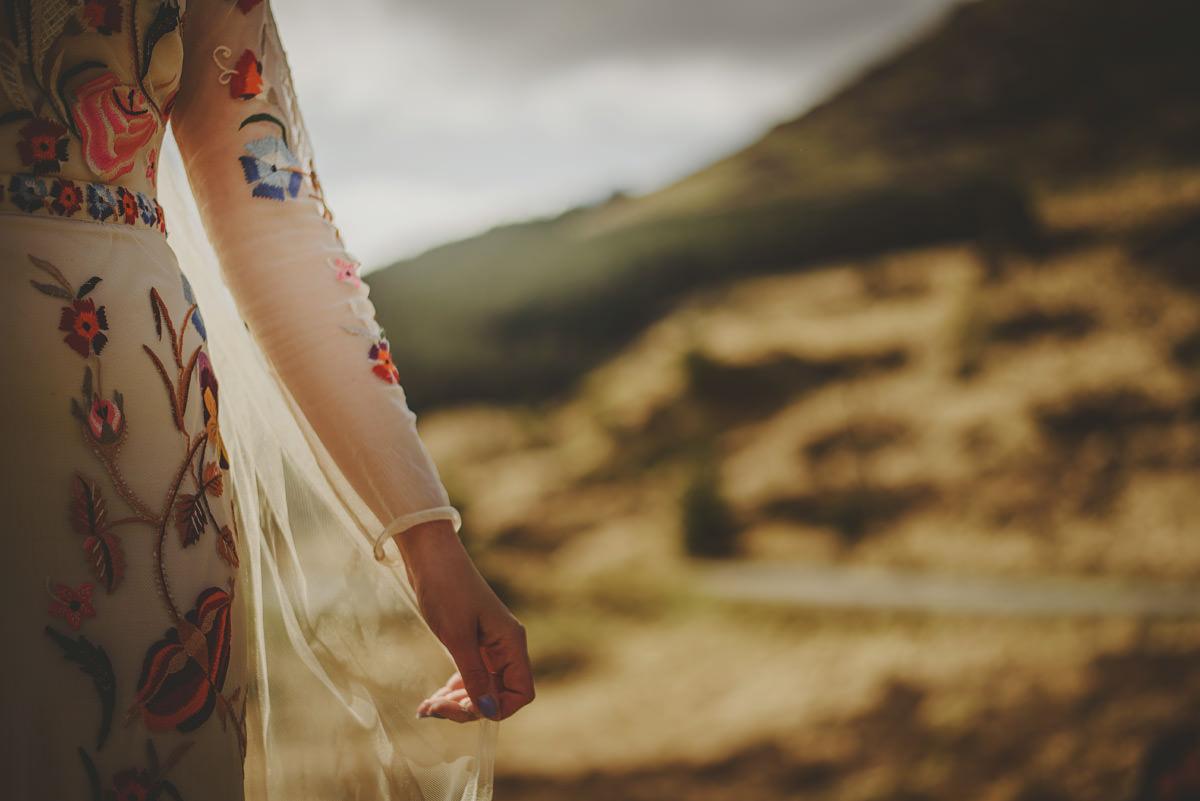 bride in glencoe