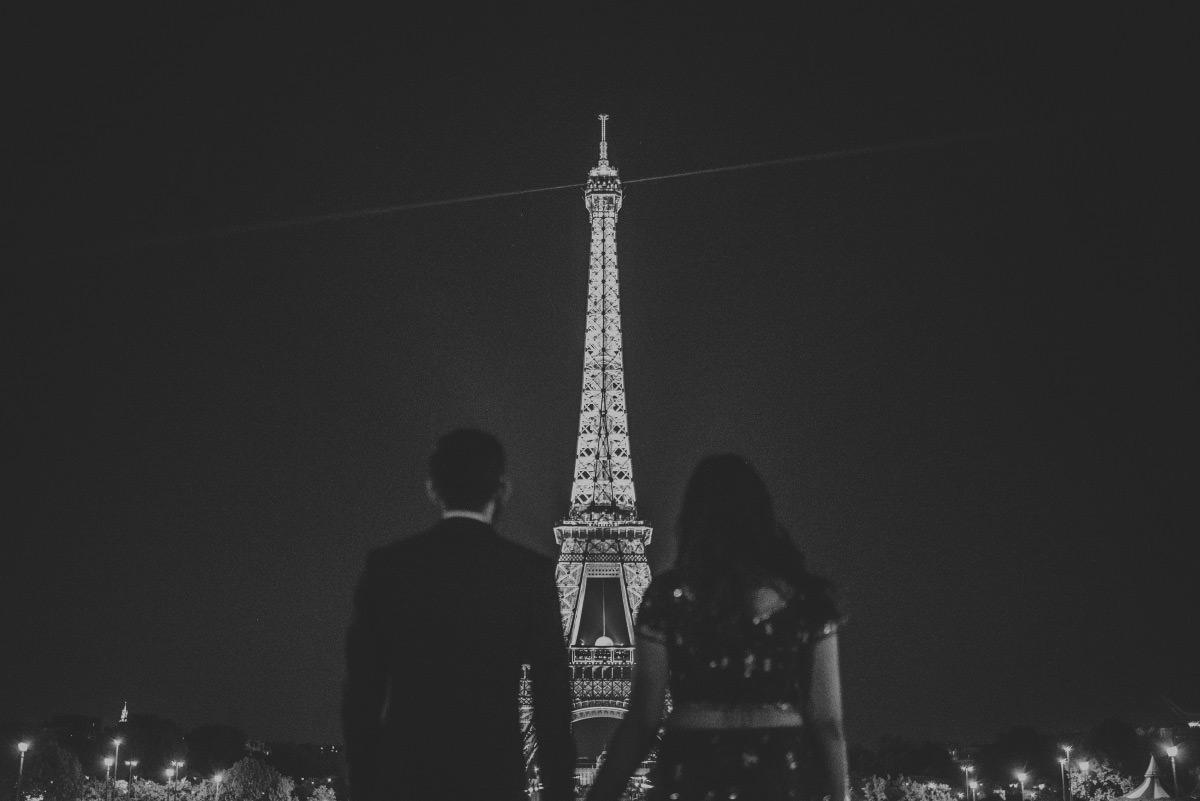 eiffel tower engagement