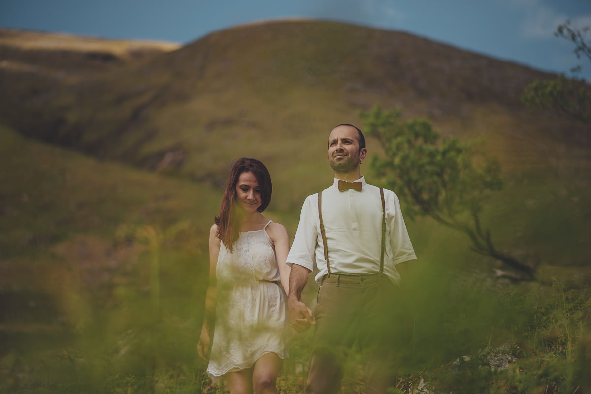 wedding photos from scotland