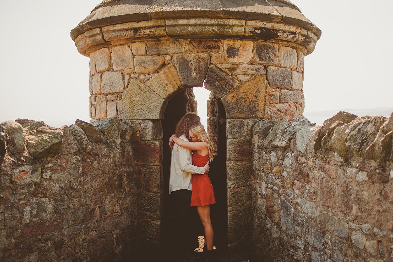 wedding photographer in fife