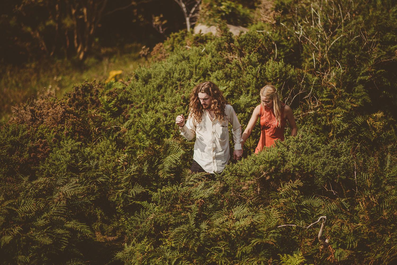 scotland engagement photos