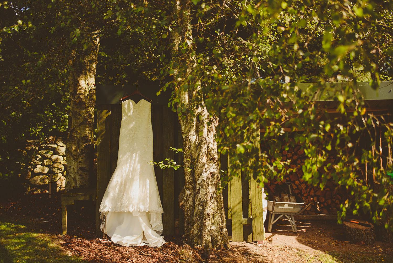 wedding dress glen tanar