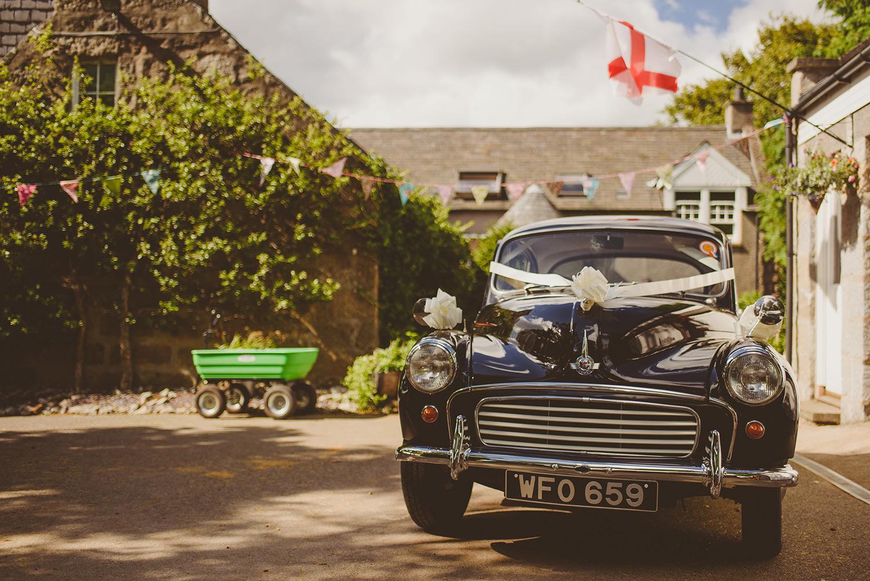 wedding car scotland