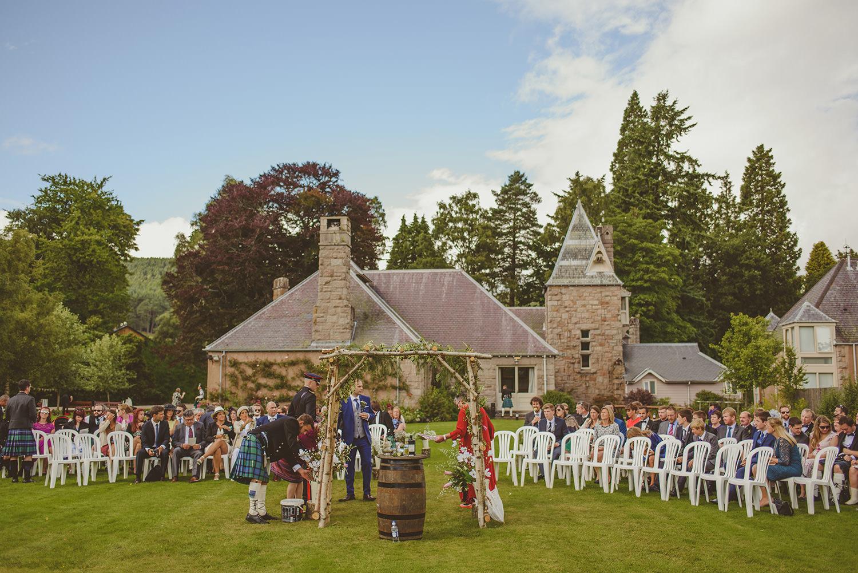 glen tanar wedding
