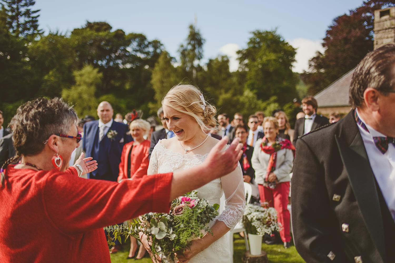 wedding at glen tanar
