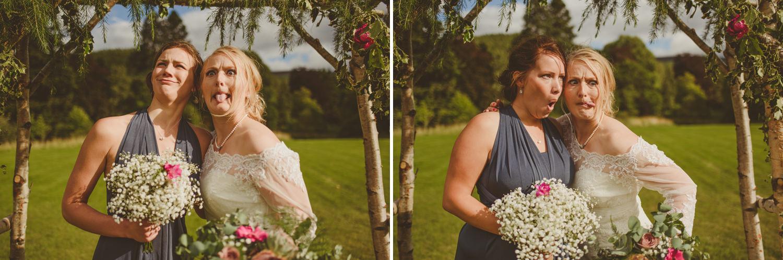 funny bridesmaids photo
