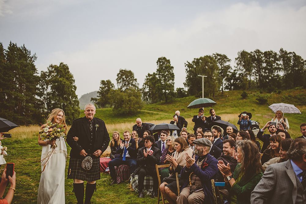 outdoor wedding venue scotland