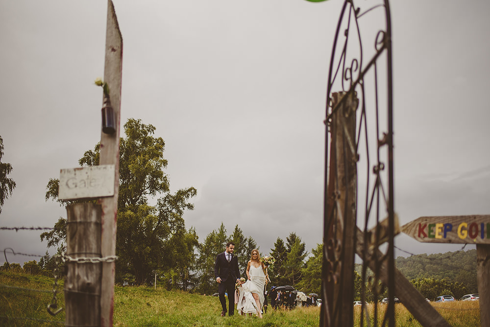 adventure wedding in scotland