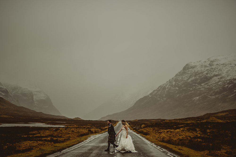 glencoe wedding photography