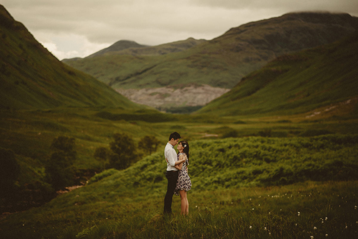 engagement session glencoe
