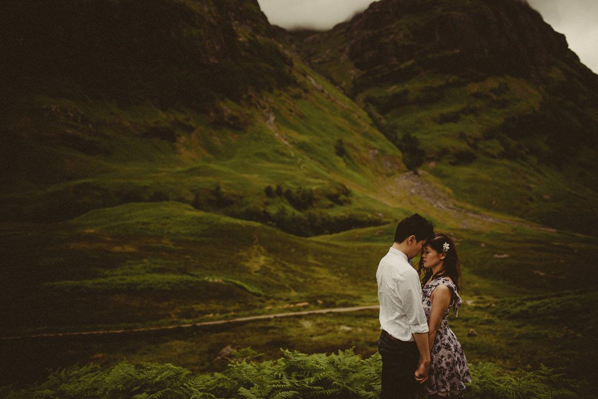 wedding in glencoe