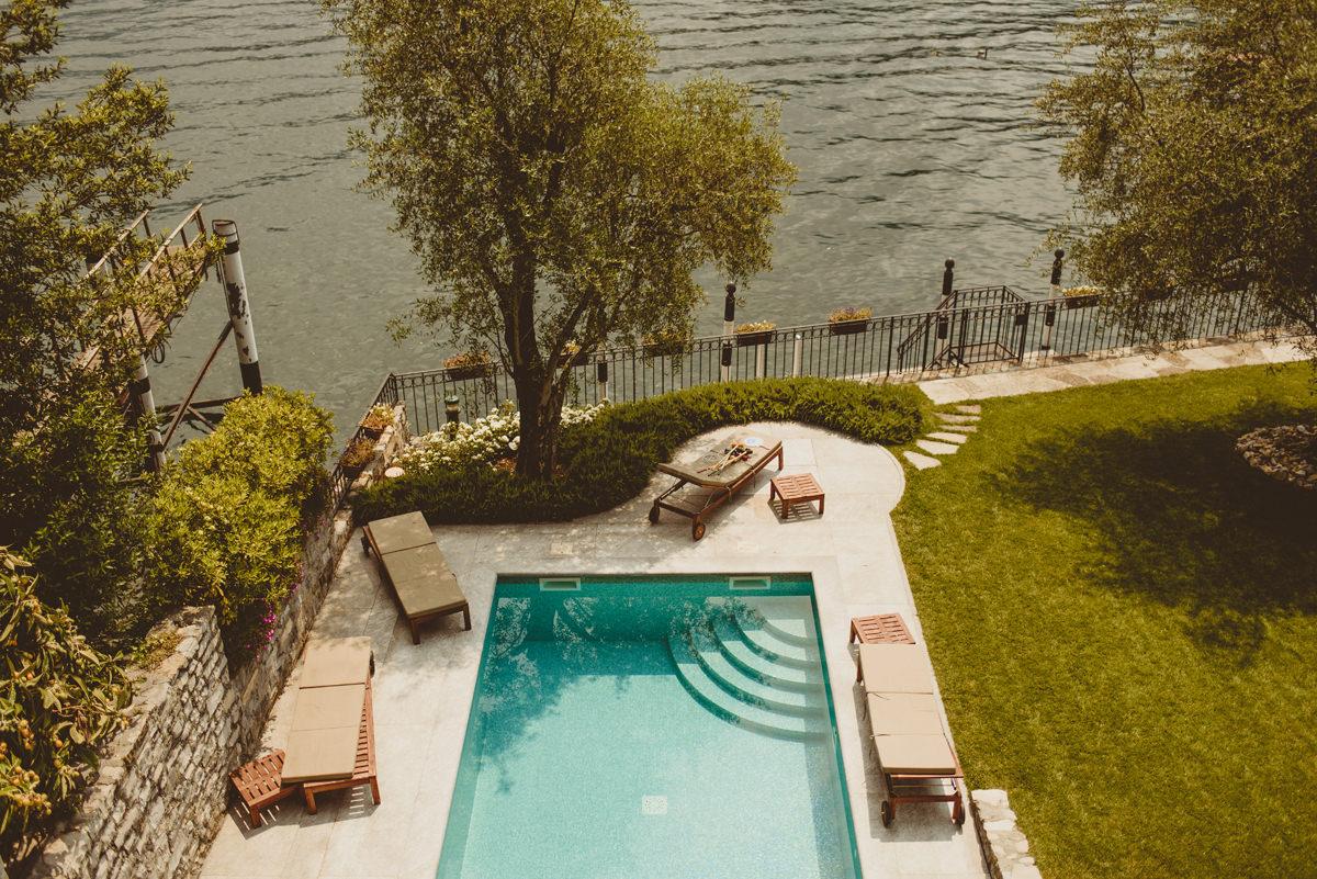 lake come wedding villa hire