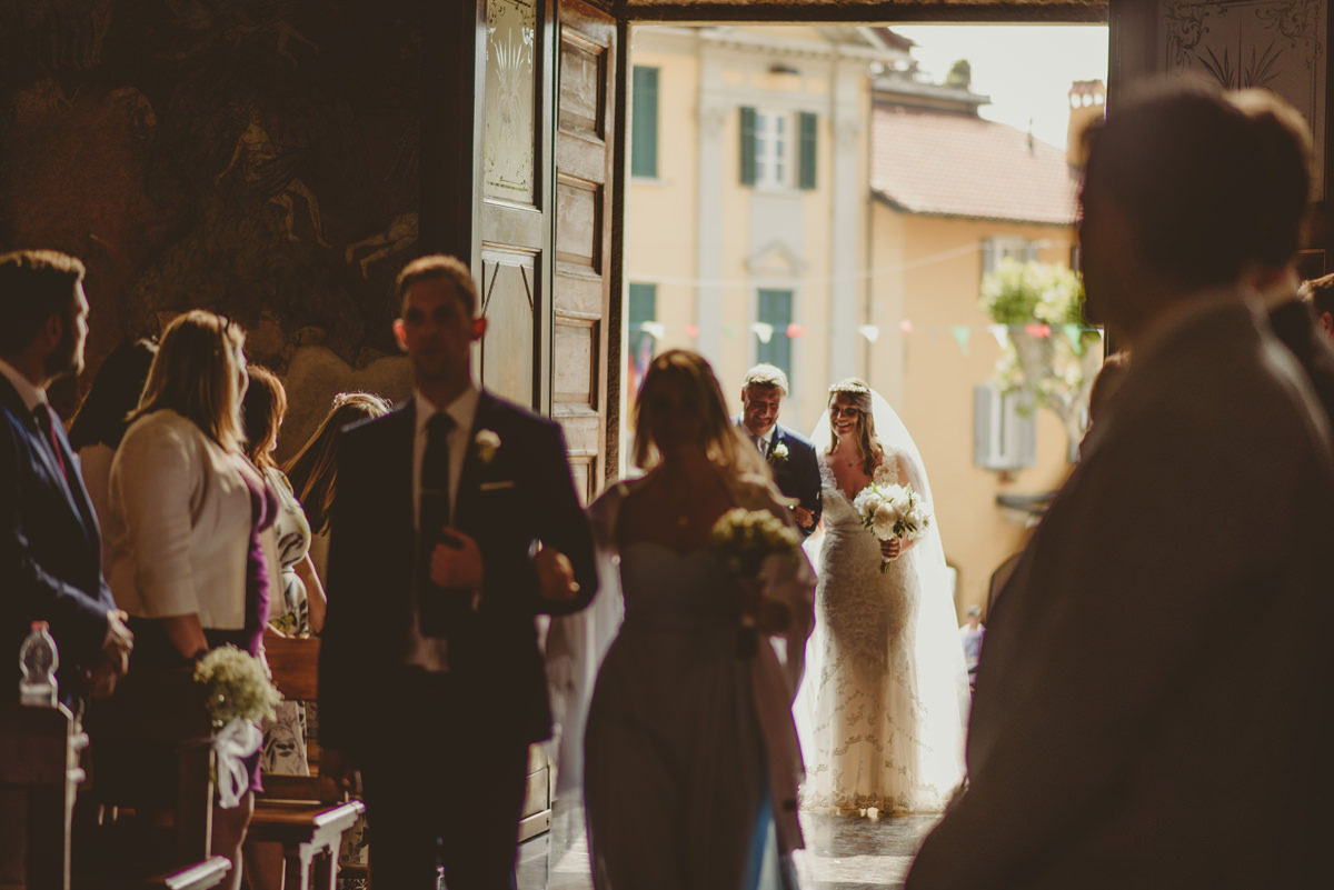 lake como wedding church