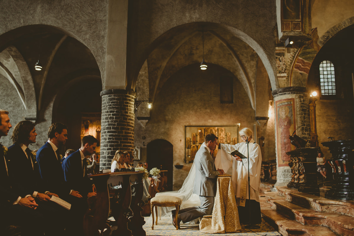 lake como church wedding