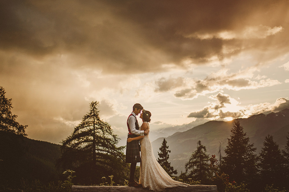 aosta valley wedding