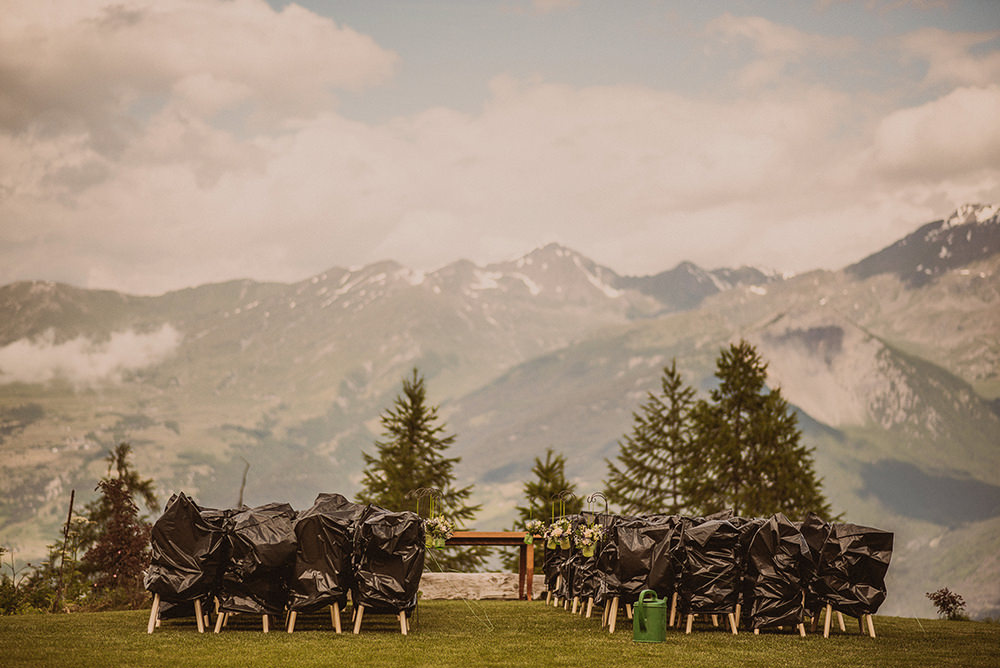 wedding in italian alps