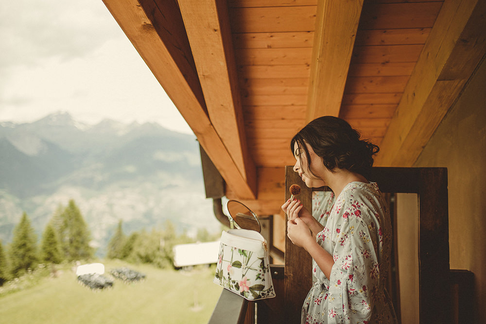 bridal preparations in aosta valley