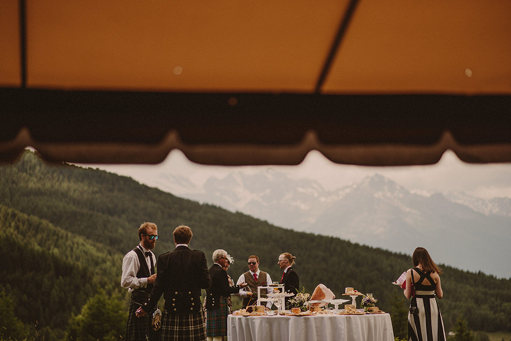 wedding in alps