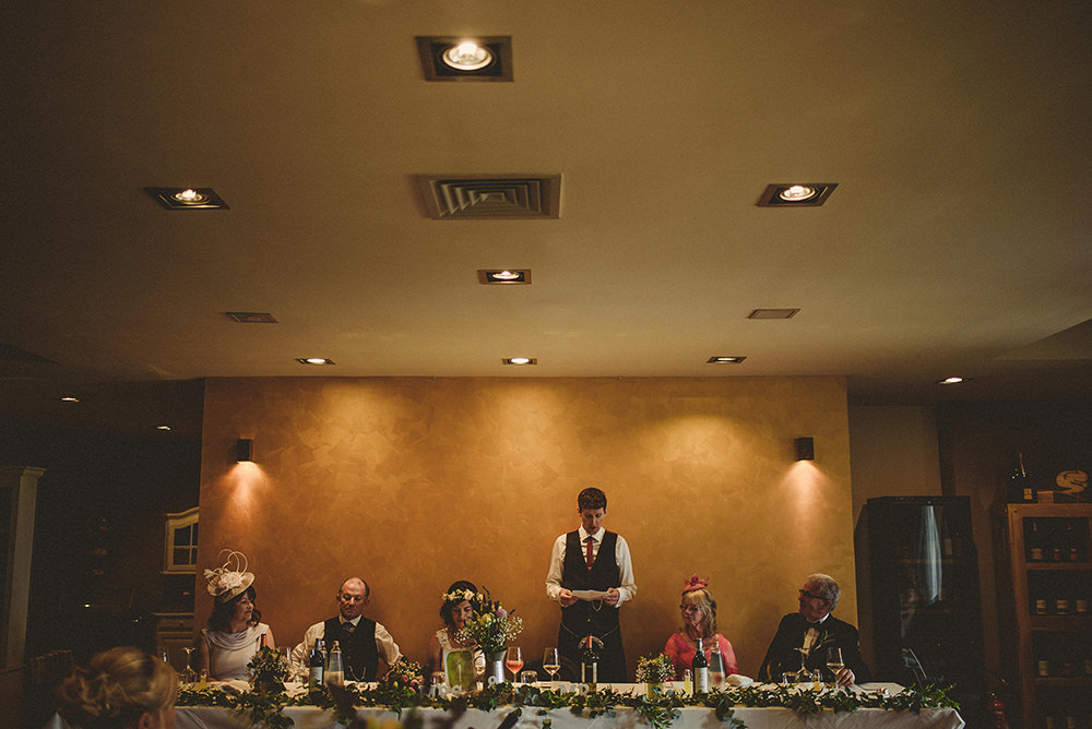 speeches at italian wedding