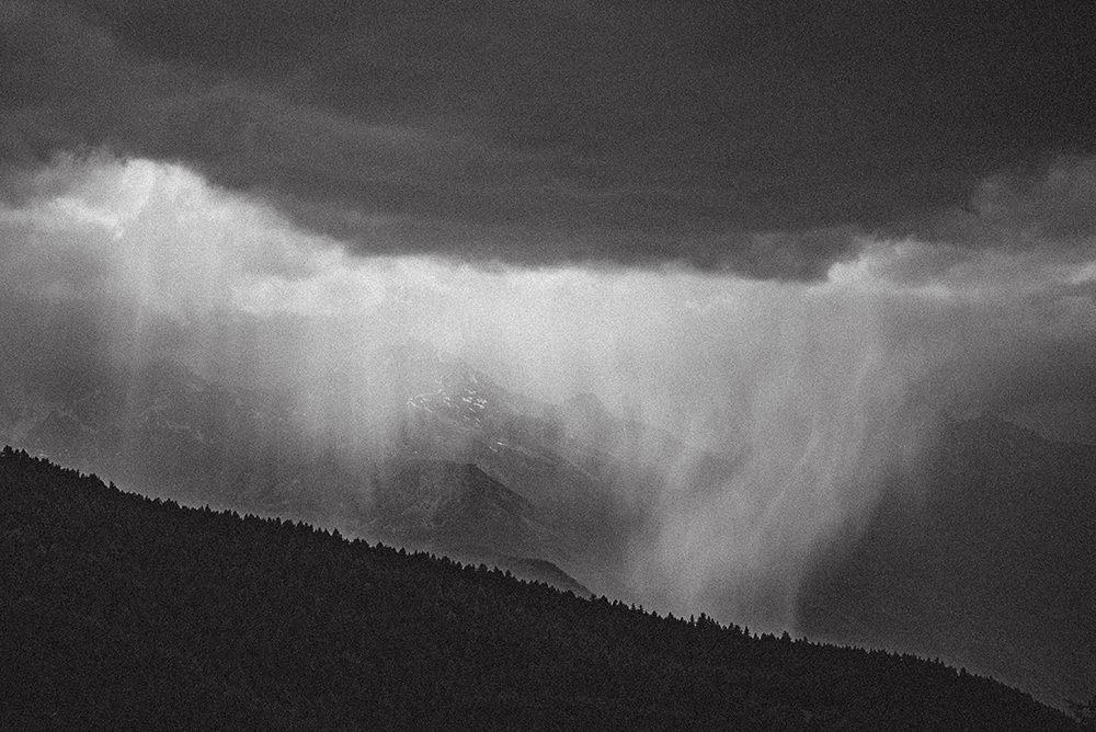 storm in alps