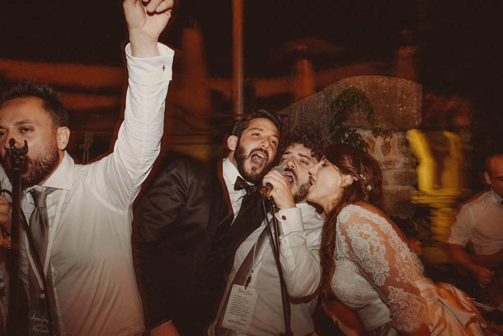 crazy wedding party in sardinia