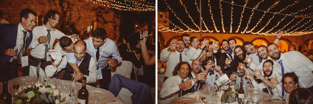 sardinia wedding party