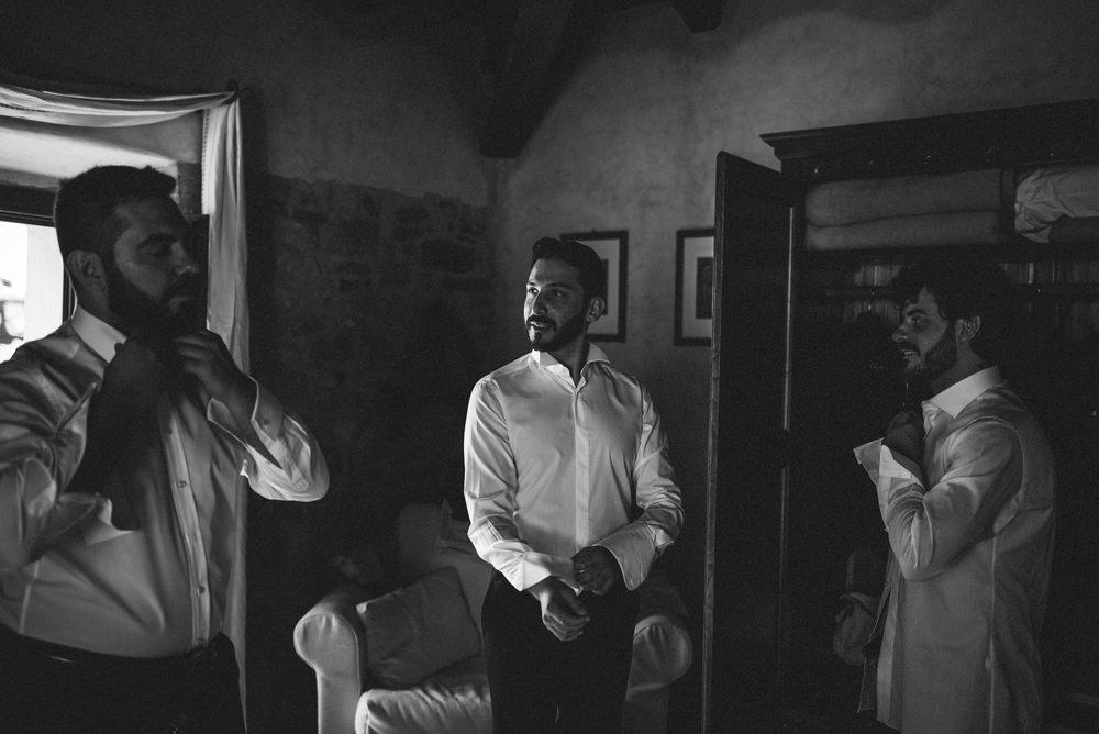 bridal preparations in sardinia