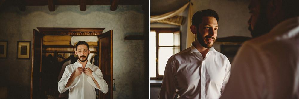 groom preparations wedding in sardnia