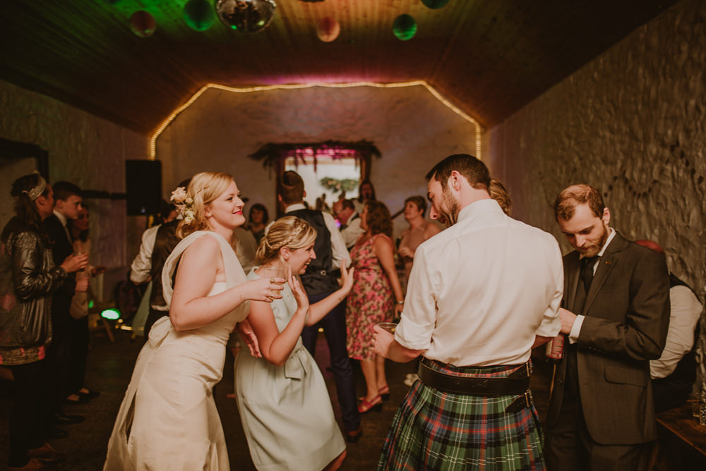 dalduff farm wedding party