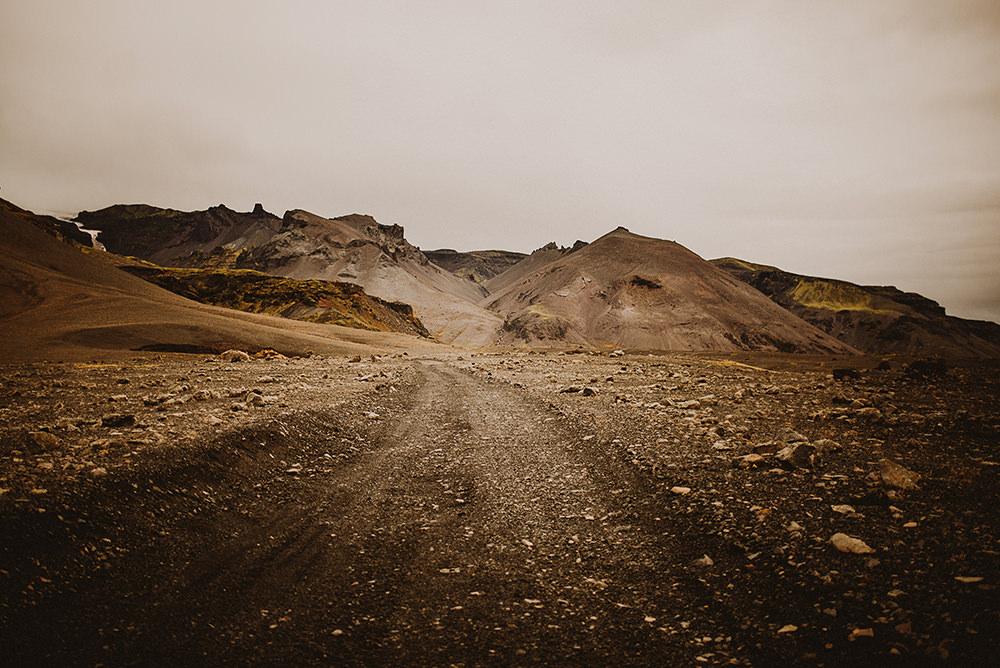 driving around Iceland