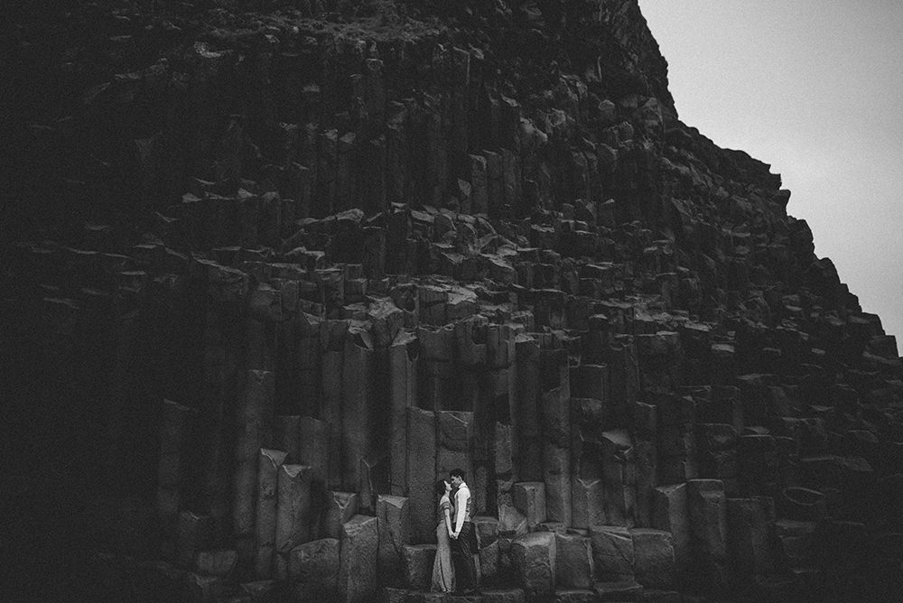 Reynisfjara wedding