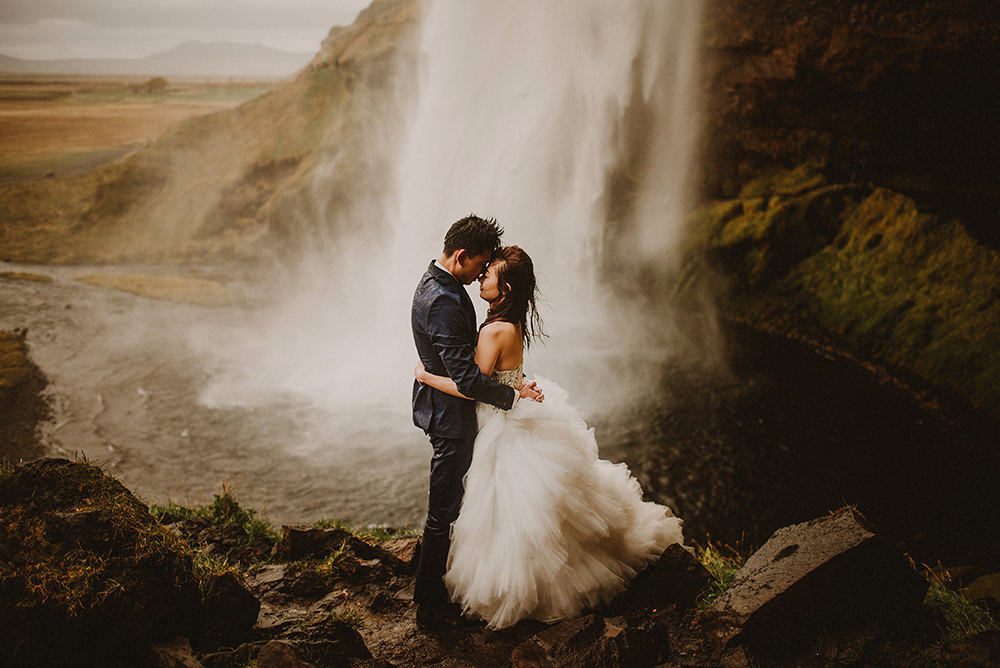 Seljalandsfoss elopement