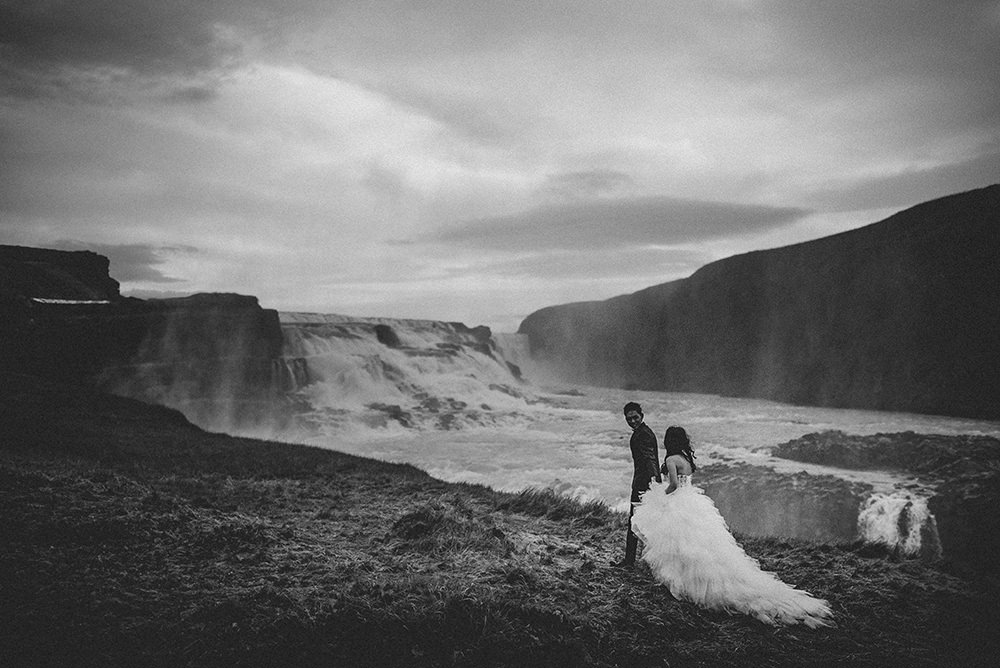 Gullfoss wedding photographer