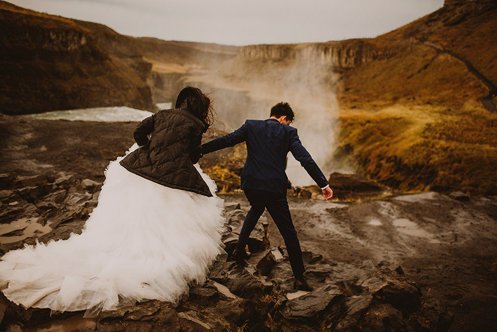 Gullfoss wedding photographer