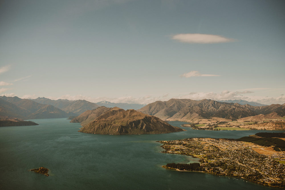 helicopter view new zealand