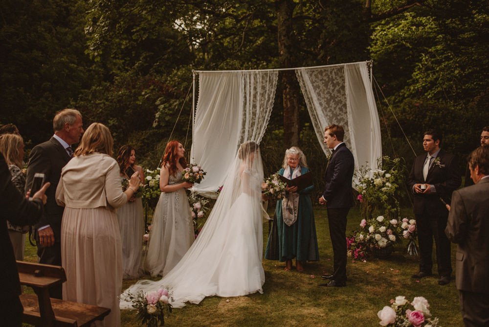 dusnkey castle wedding