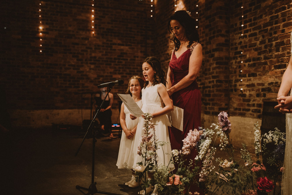 kinell byre wedding ceremony