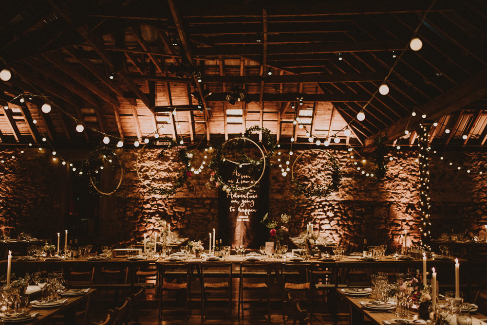 kinell byre wedding decorations