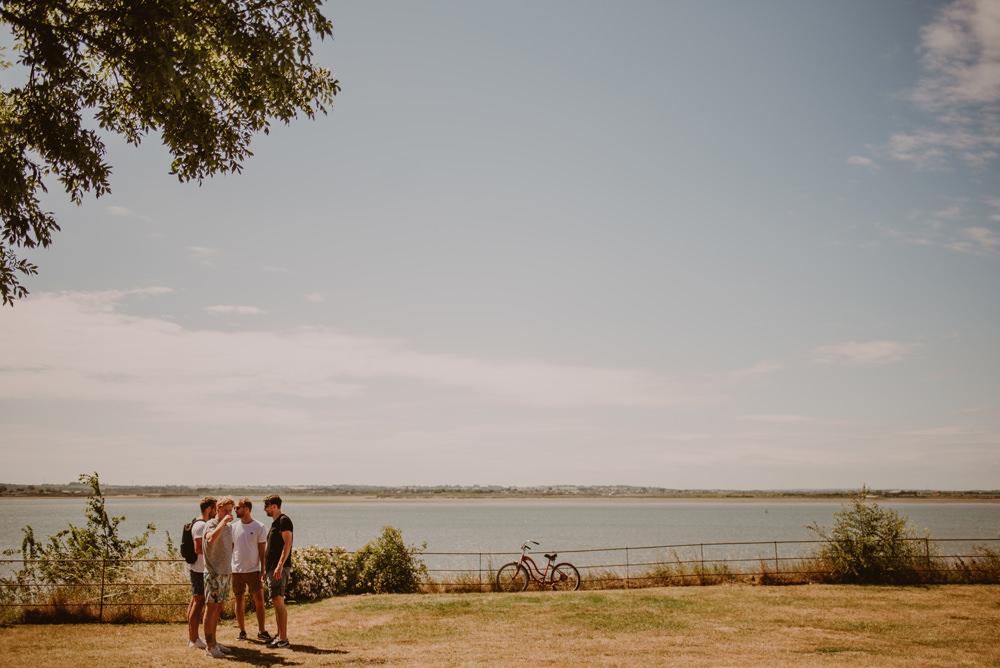 groom preperations osea island