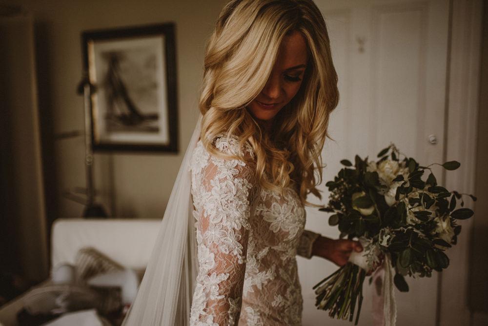 bride getting ready osea island