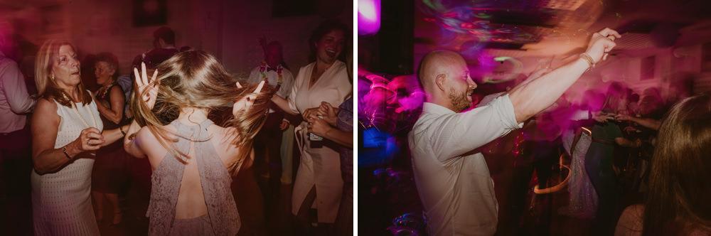 wedding party on osea island